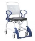 Silla de ruedas para baño Berlín para personas mayores o con discapacidad