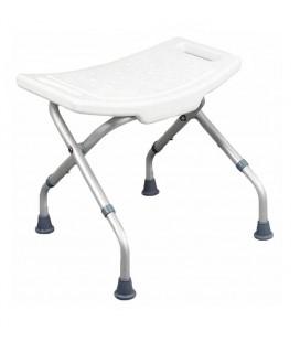 Silla plegable para baño para personas mayores o con discapacidad