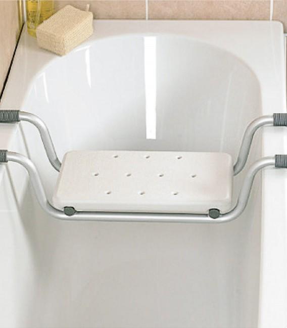 Ejemplo en baño del asiento para bañera