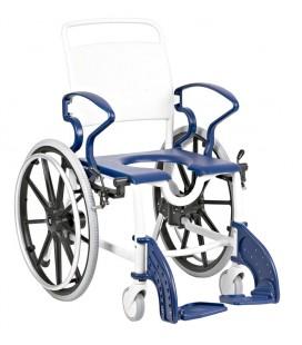 Silla de baño con ruedas para personas mayores - Genf