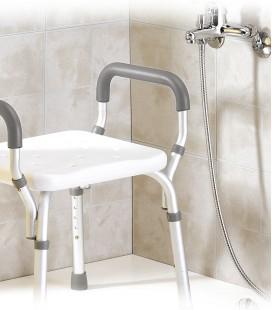 Silla de ducha con reposabrazos