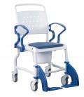Silla de ruedas con inodoro para personsas mayores o con discapacidad - Bonn