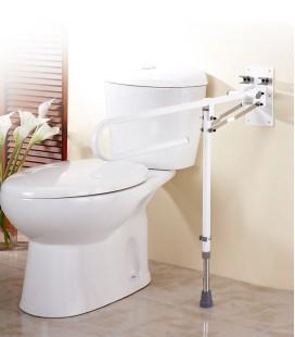 Barras para baño con pata para minusválidos y personas mayores o con discapacidad