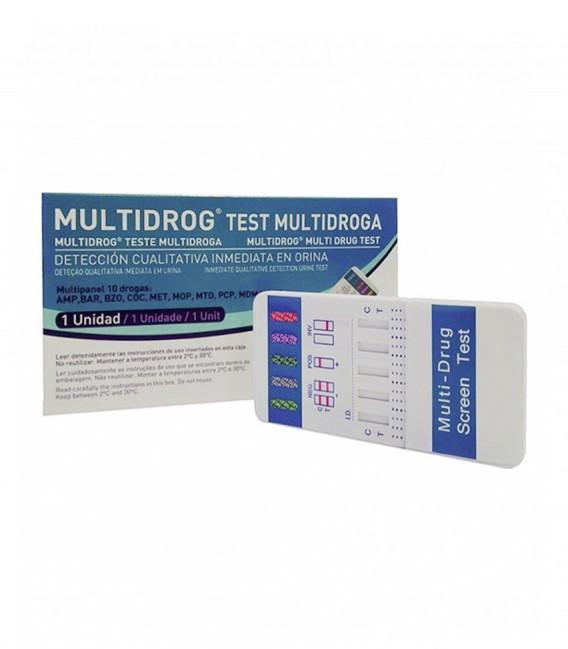 test de drogas multigrog 10 sustancias