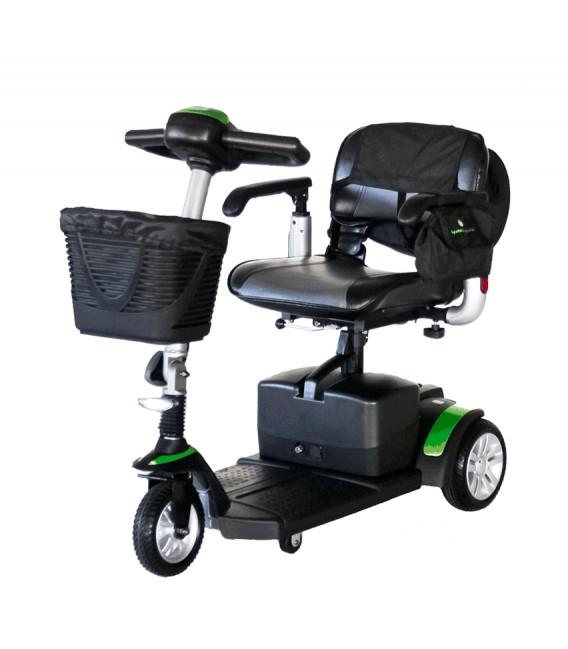 Scooter Eclipse Plus compacto, desmontable, con baterías extraíbles y con accesorios