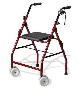 Andador de aluminio con ruedas Mini Roler, para ayudar a caminar a las personas mayores o con discapacidad