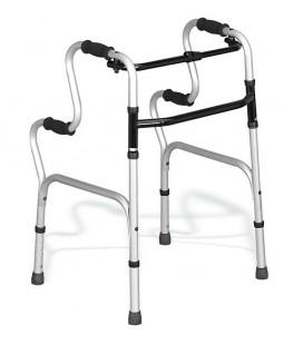 Andador con agarre que sirve para incorporarse a las personas mayores o con discapacidad