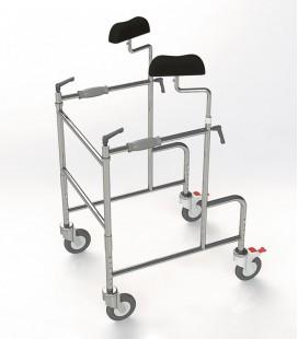 Andador axilar para personas con movilidad reducida