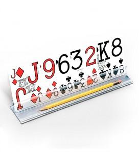 Soporte para jugar a las cartas para personas mayores o con discapacidad
