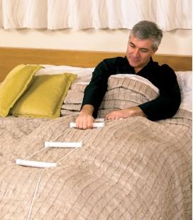 Escalerilla para incorporarse en la cama para personas mayores o con discapacidad