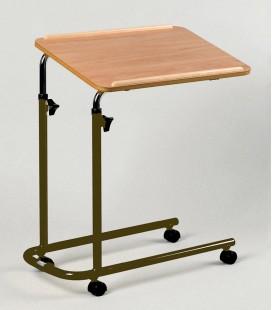 Mesa auxiliar con ruedas para personas mayores o con discapacidad