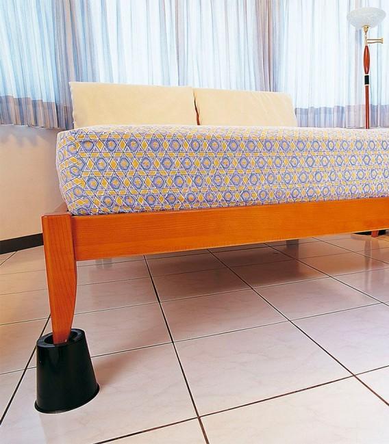 Elevadores para cama o silla. Para elevar la cama y facilitar acostarse y levantarse a personas mayores o con discapacidad. Izqu