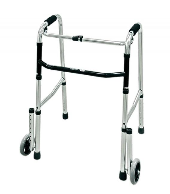 Andador de aluminio para ayudar a caminar a personas mayores o con discapacidad
