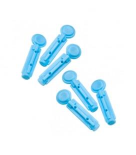 Lancetas para pinchar el dedo y medir el colesterol