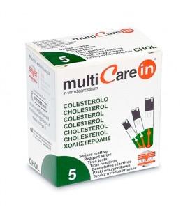 5 Tiras reactivas para medir el colesterol en sangre - Multicare In