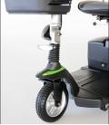 Luz en la parte delantera del Scooter Eclipse Plus compacto, desmontable, con baterías extraíbles y con accesorios
