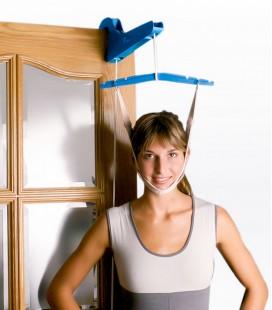 Tracción de puerta para tratamiento de cervicales