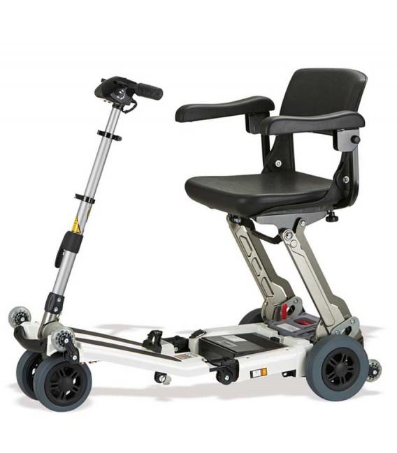 Scooter Luggie de aluminio, ligero, plegable y regulable en altura