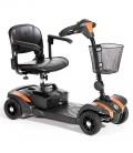 Scooter portátil y desmontable Veo Naranja