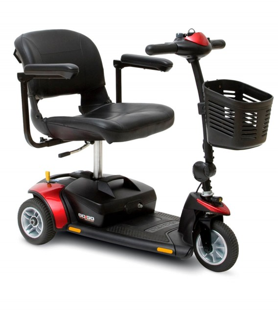 Scooter Go Go de 3 ruedas rojo