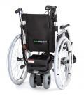 Motor de ayuda para el acompañante S DRIVE montado en una silla de ruedas
