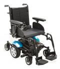 Silla de ruedas eléctrica versátil de tracción central con el kit azul