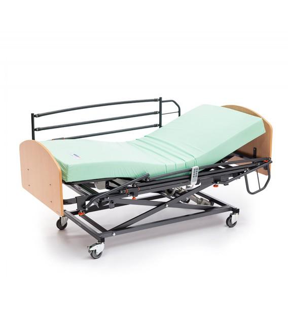 Cama elevable VITALIFT + barandilla + cabecero + colchón visco