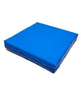 Conjín viscoelástico antiescaras con funda PU impermeable azul