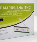 Test de drogas, marihuana - detalle imagen test en caja