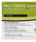 Test de drogas, marihuana - modo de uso