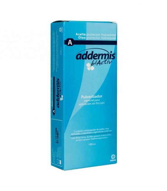 ADDERMIS BIACTIV Protector e hidratante ACEITE 100 - caja frontal