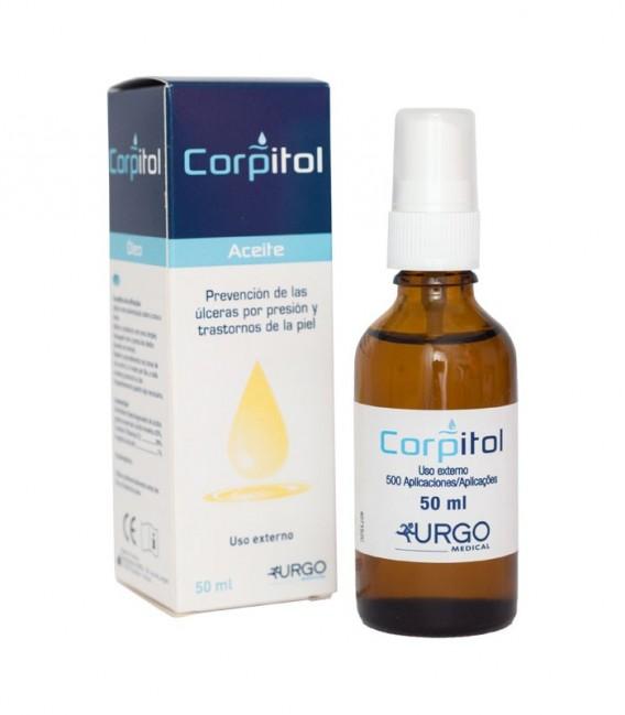 CORPITOL Aceite prevención escaras 50 ML - envase y caja