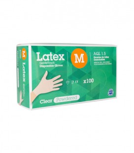 GUANTES LATEX DISPOLAB 100 TALLAS S-M-L