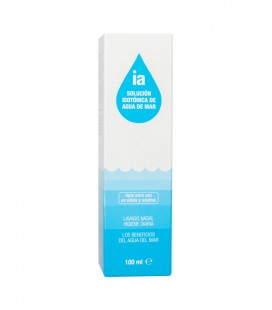 IAP AGUA DE MAR NASAL Spray lavado nasal 100 ML - caja frontal