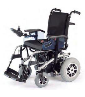 Silla de ruedas eléctrica compacta de tracción trasera