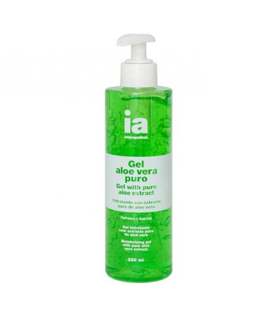 IAP GEL PURO ALOE Hidratante y protector 250 ML - envase frontal