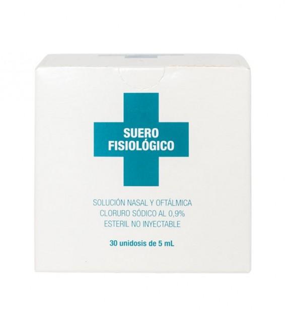 IAP SUERO FISIOLOGICO Nasal y oftálmica MONODOSIS 30X5 - caja frontal