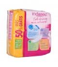 INDASEC MINI Compresa dermoprotectora 20+10 PACK - envase dorsal