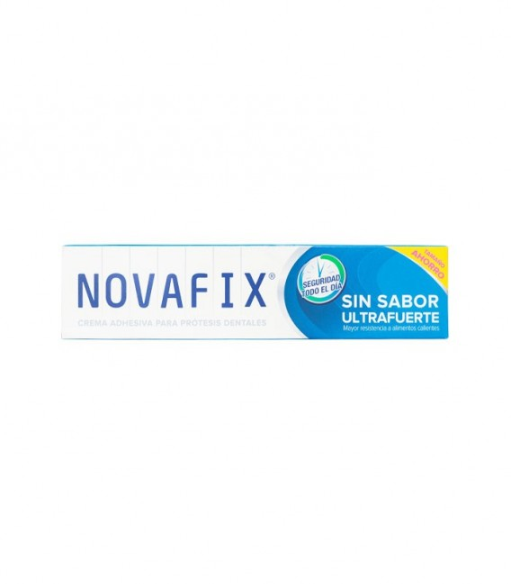 NOVA FIX ULTRAFUERTE SIN SABOR Crema adhesiva 70 GR - caja frontal