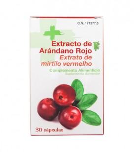 RF ARANDANO ROJO Complemento alimenticio 30 CAPS - caja frontal