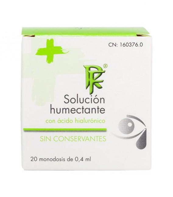 SOLUCION HUMECTANTE Hidratación y confort RF 20 MONOD - caja frontal
