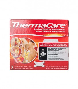 THERMACARE PARCHE CALOR ADAPTABLE 3 UDS
