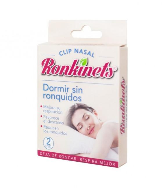 RONKINETS CLIP NASAL Mejora respiración 2 UD - envase frontal