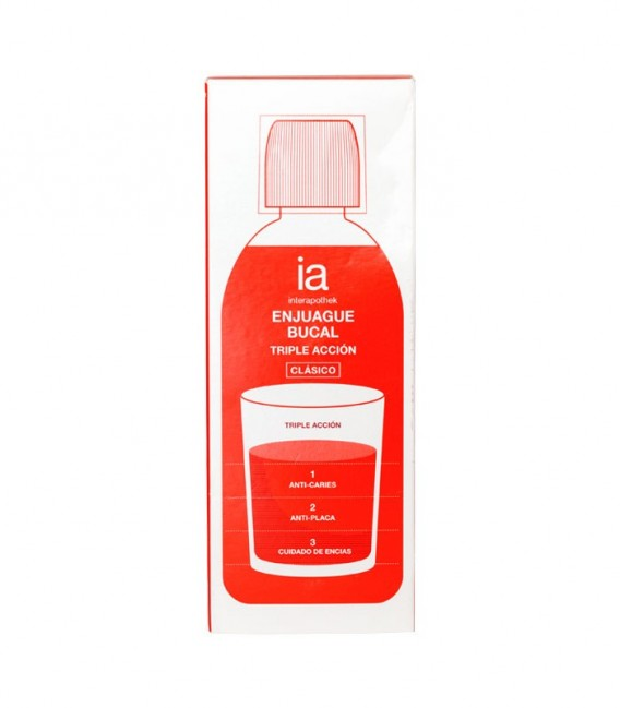 IAP COLUTORIO ACCION Enjuague bucal 500 ML - caja frontal