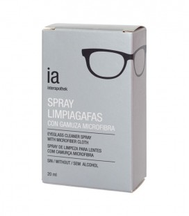 IAP SPRAY LIMPIAGAFAS Sin alcohol - caja frontal