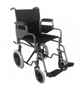 Silla de ruedas de acero de rueda pequeña