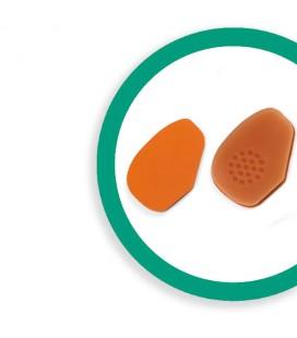 Comforsil Miniplantillas Descanso Extrafinas Forradas Con Zona Antideslizante Talla Unica
