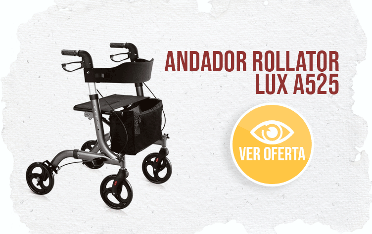 banner Andador Rollator Lux A525