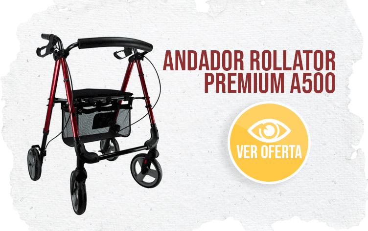 banner Andador Rollator Premium A500