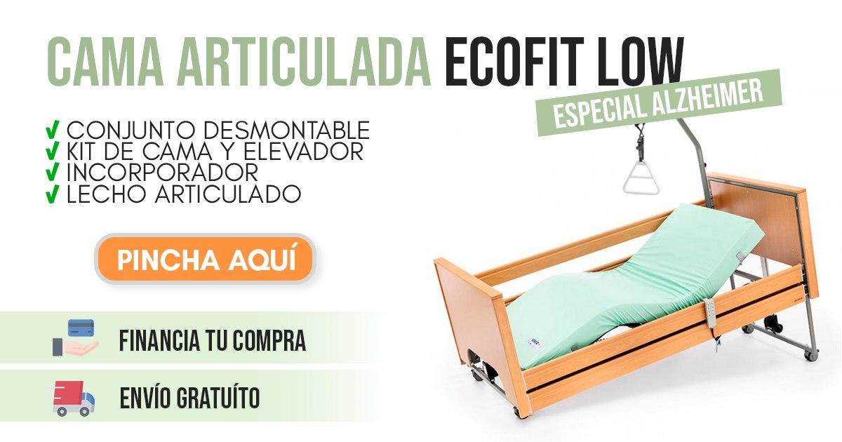 banner cama articulada para enfermos de alzheimer ecofit low